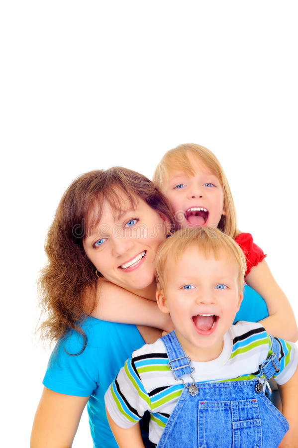 Família de sorriso fotos de stock
