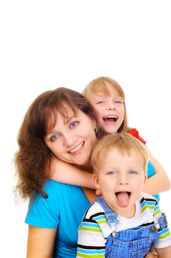 Família de sorriso imagens de stock royalty free