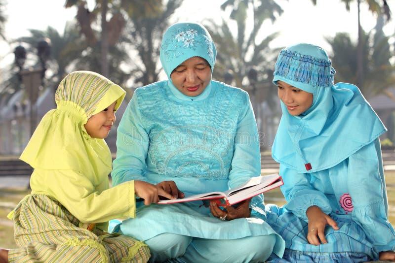 Família do Islão fotos de stock
