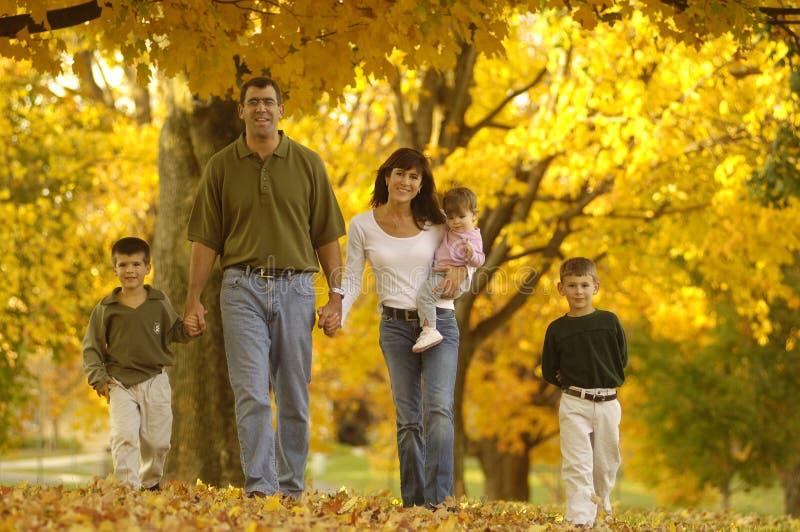 Família do outono