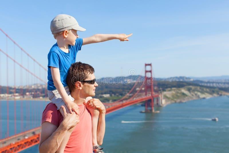 Família em Califórnia imagens de stock royalty free
