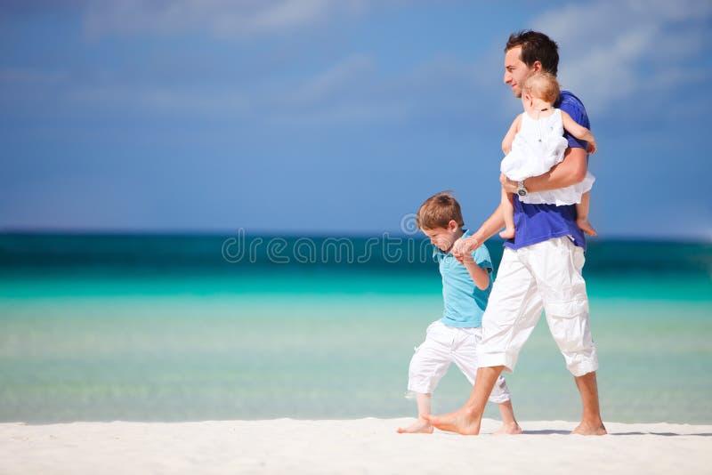 Família em férias foto de stock royalty free