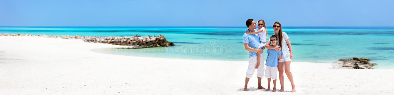 Família em férias de verão foto de stock royalty free