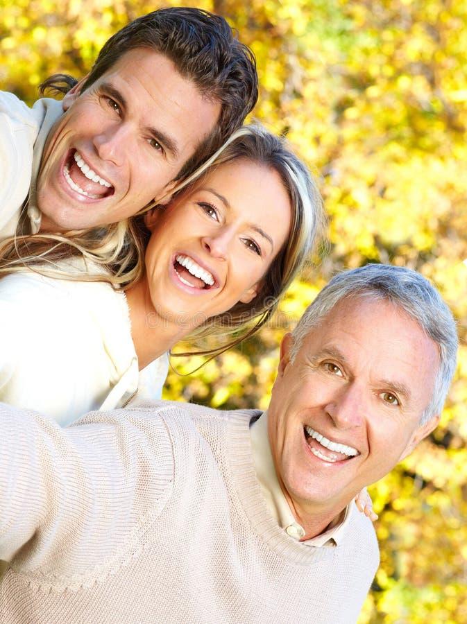 Família feliz fotos de stock royalty free