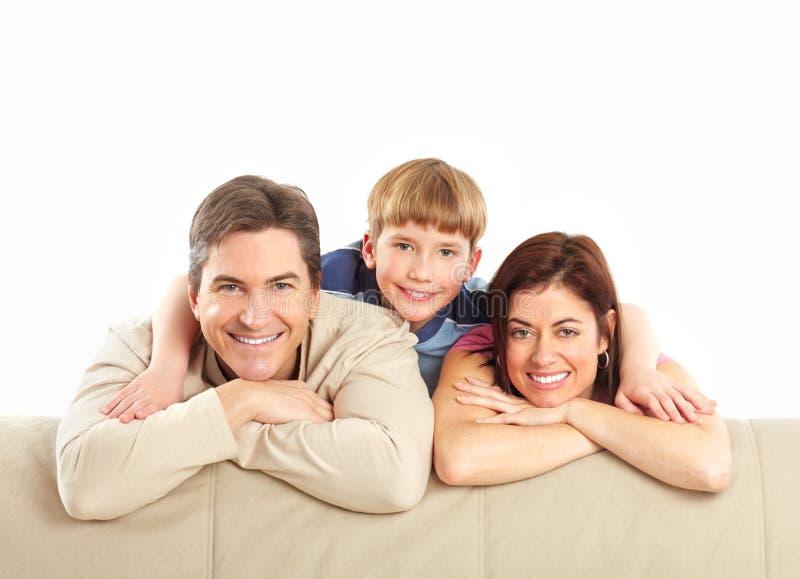 Download Família feliz imagem de stock. Imagem de geração, amor - 12805313