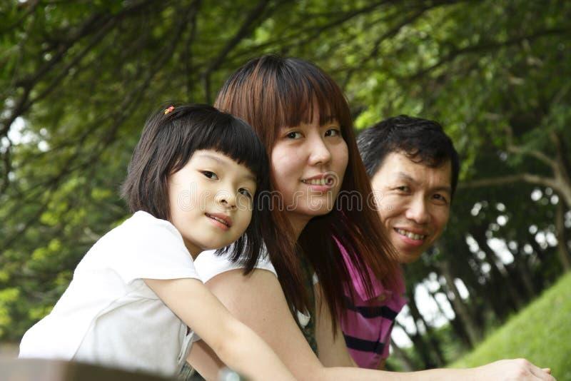 Família feliz fotos de stock
