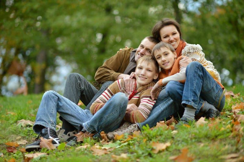 Família feliz bonita imagem de stock royalty free