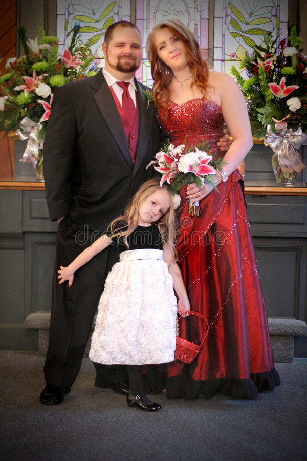 Família formal nova imagens de stock