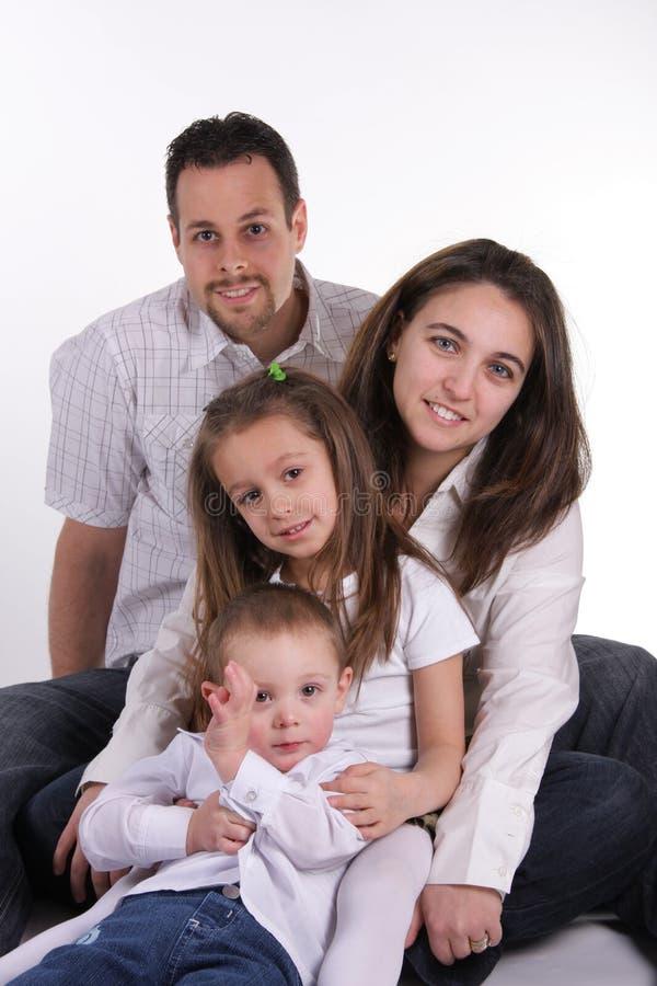 Família ideal foto de stock