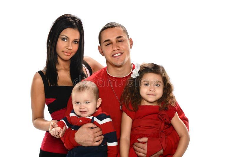 Família latino-americano imagens de stock royalty free