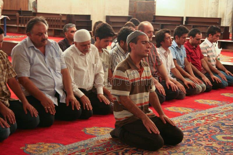 Família Praying imagens de stock royalty free