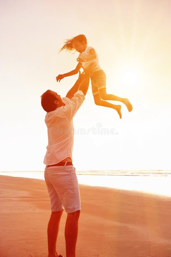 Família saudável do divertimento fotos de stock royalty free