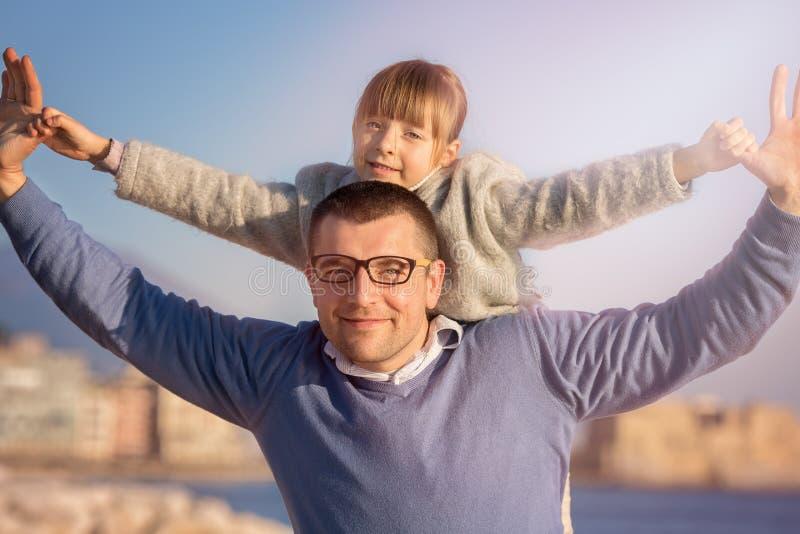 Família, turismo, férias, conceito do negócio imagem de stock royalty free