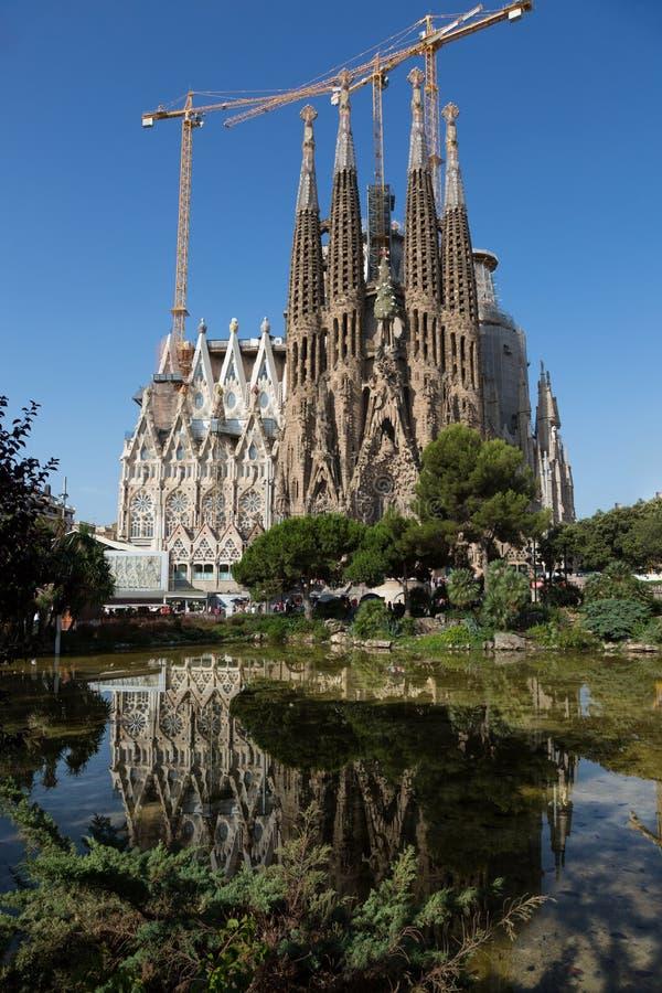 fam lia Sagrada zdjęcie royalty free