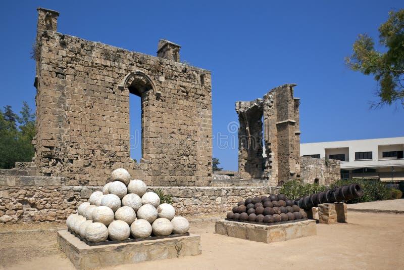 Famagusta - Cipro turca fotografia stock