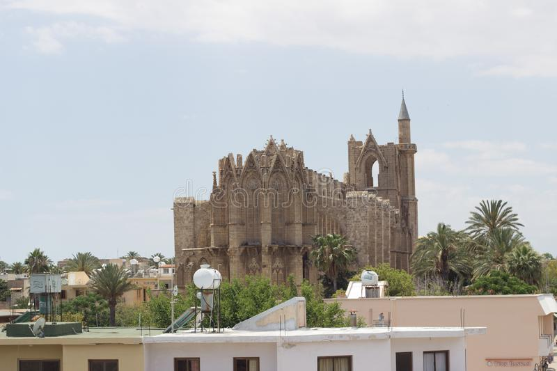 Famagusta Cypern arkivbild