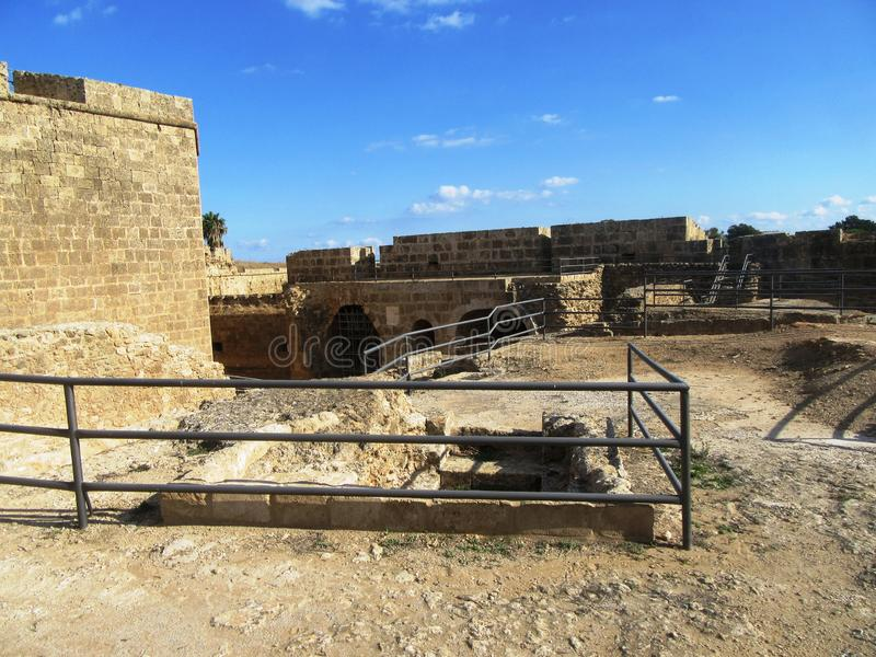 Famagusta  in Northern Cyprus royalty free stock images