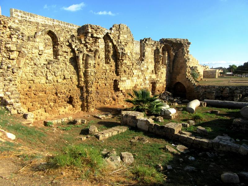 Famagusta  in Northern Cyprus royalty free stock photo