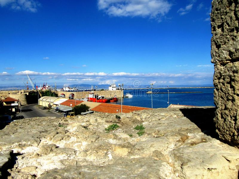 Famagusta  in Northern Cyprus stock images