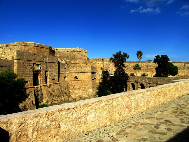 Famagusta  in Northern Cyprus royalty free stock photos