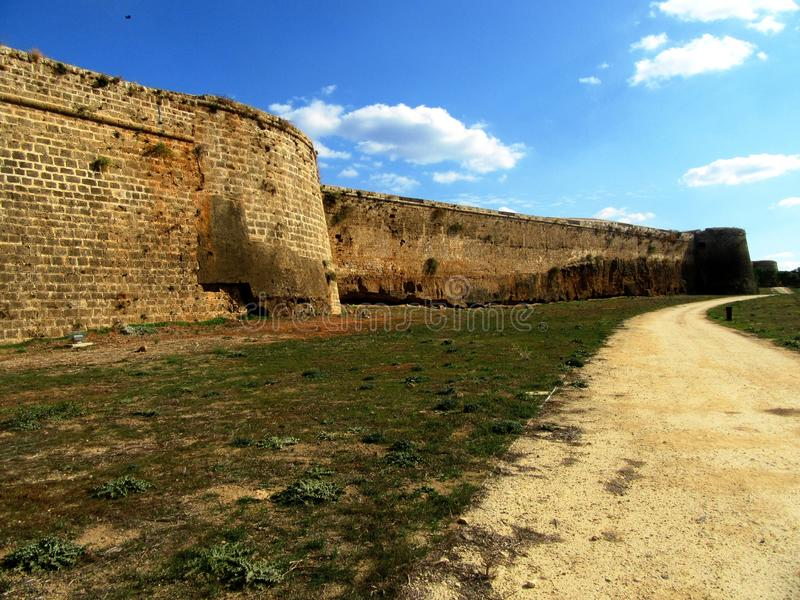 Famagusta  in Northern Cyprus royalty free stock photography