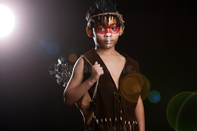 Fame del nativo americano fotografie stock libere da diritti