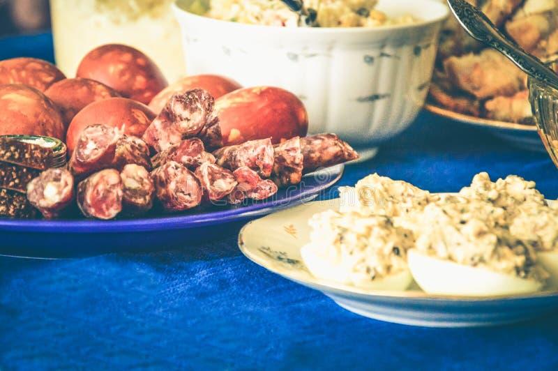Fame della carne di festività di Gala Dinner delicata fotografia stock libera da diritti