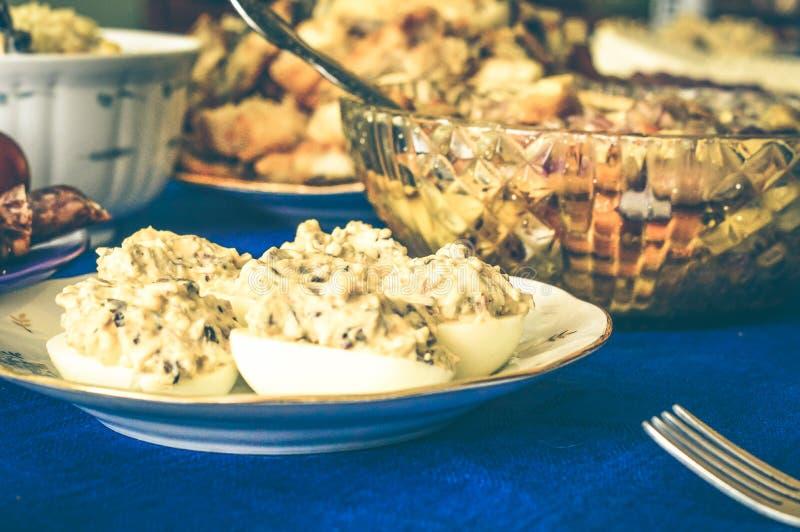 Fame della carne di festività di Gala Dinner delicata immagine stock