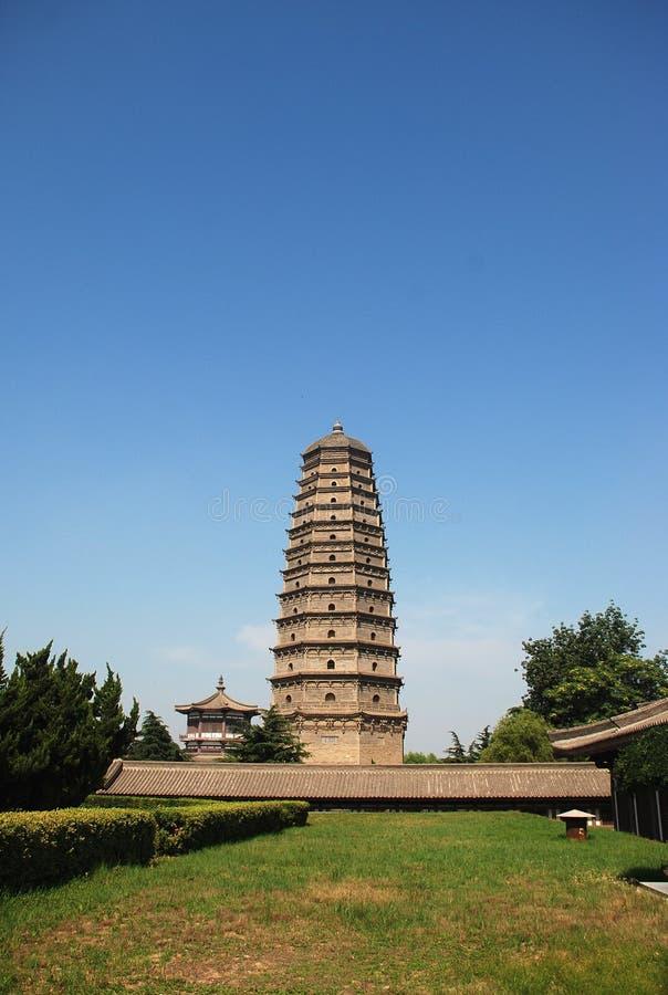 famen świątynię zdjęcia royalty free