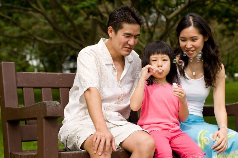 Download Famiglia all'aperto fotografia stock. Immagine di divertimento - 3130630