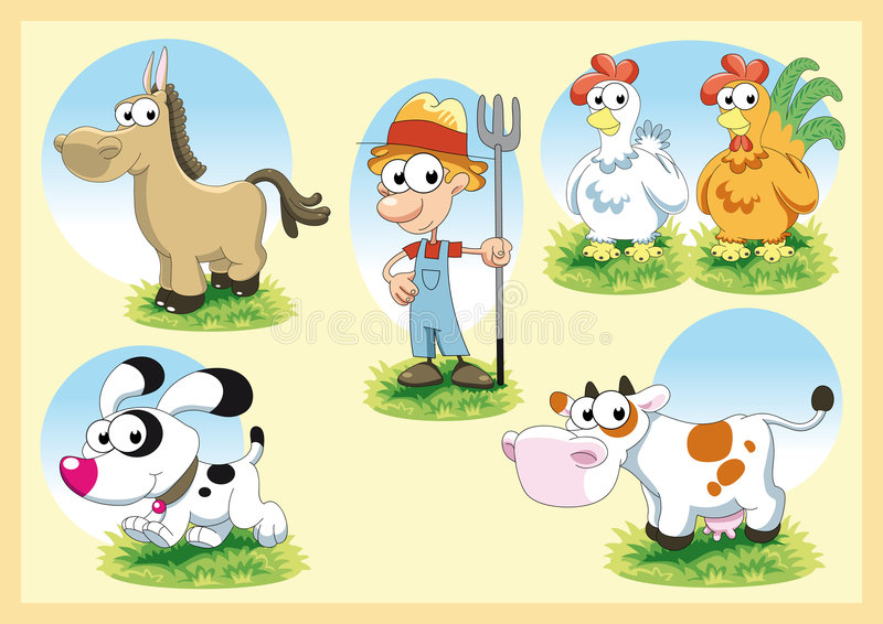 Famiglia dell azienda agricola