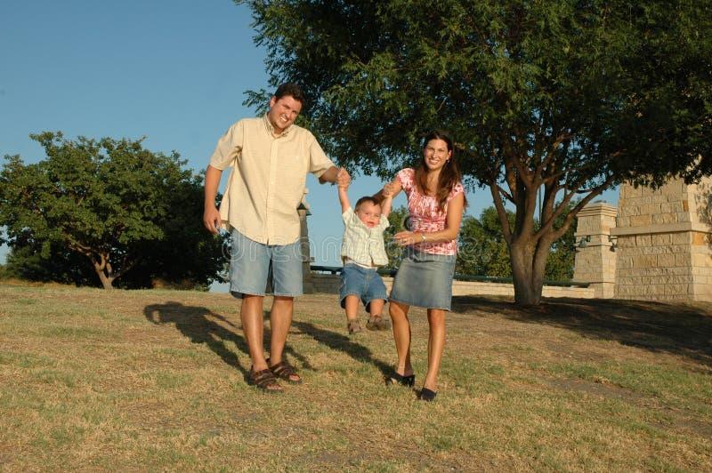 Famiglia di divertimento fotografia stock libera da diritti