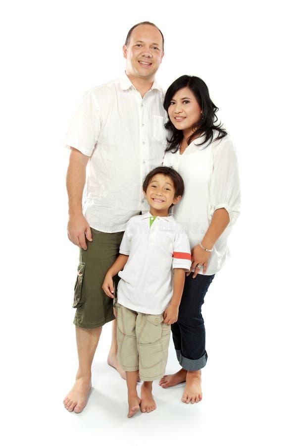 Famiglia felice fotografia stock