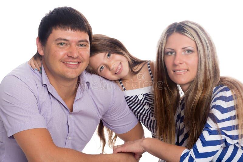 Famiglia felice sorridente immagini stock libere da diritti
