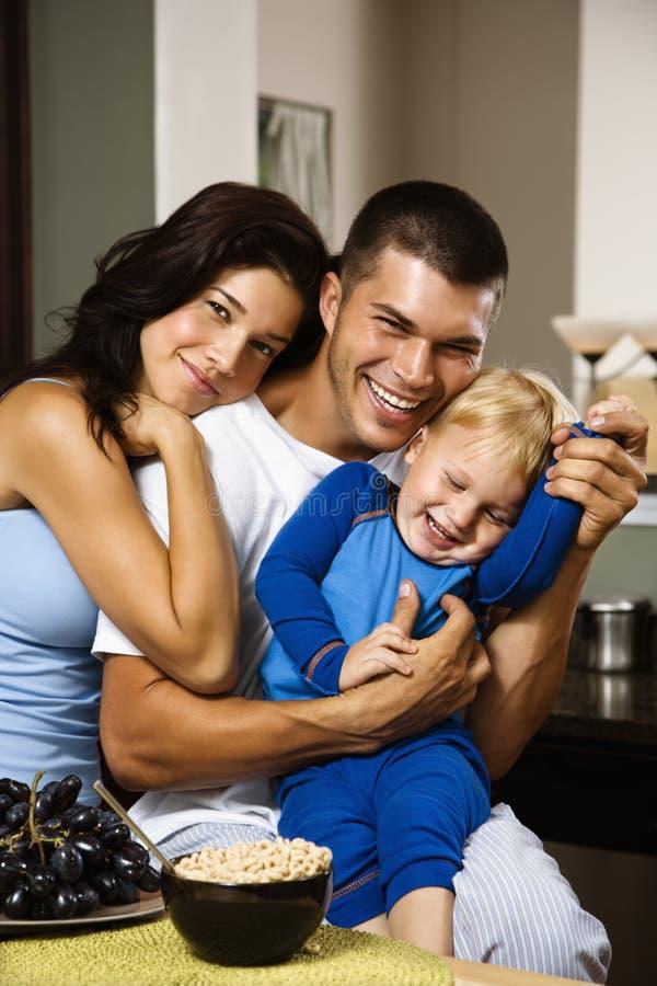 Famiglia insieme. immagine stock