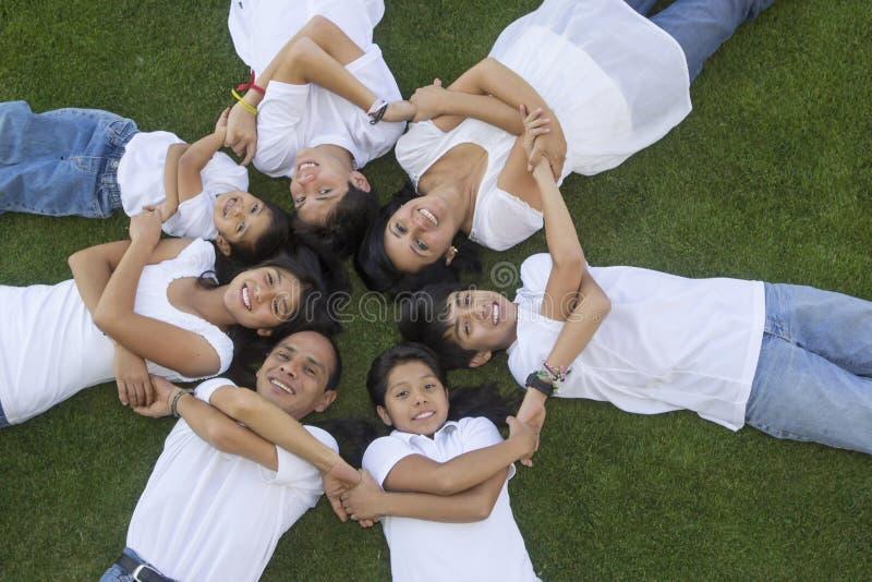 Famiglia messicana 2 fotografia stock