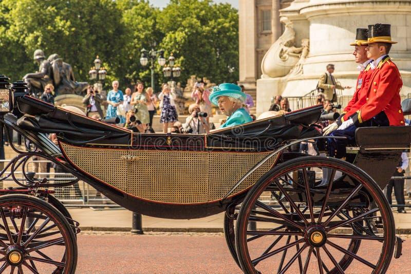 Famiglia reale britannica immagine stock libera da diritti