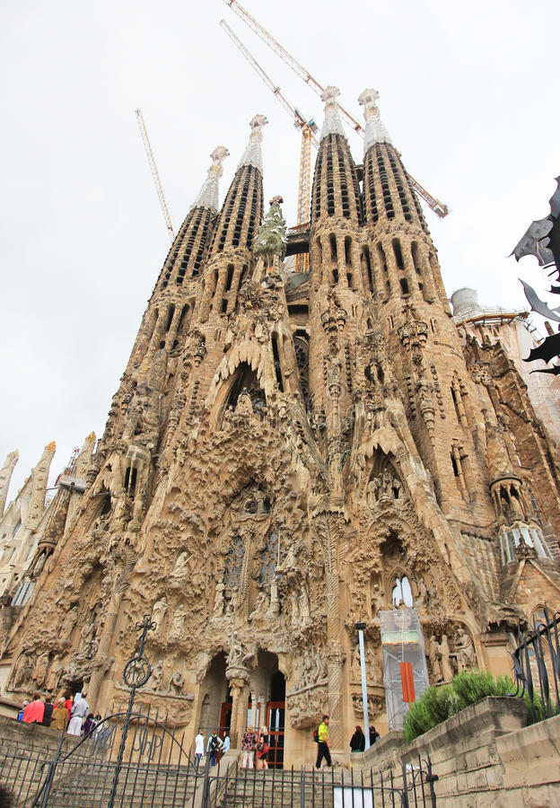 Free Famiglia Sagrada In Barcelona Stock Photos - 27831213