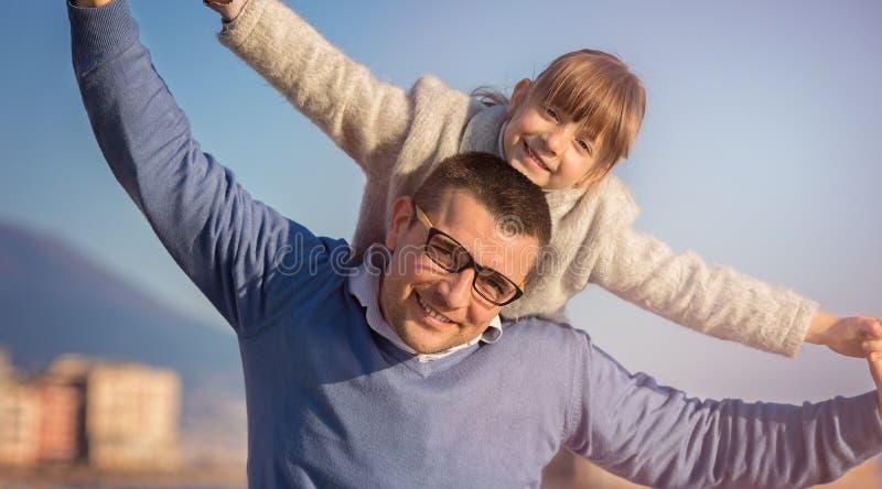 Famiglia, turismo, vacanza, concetto di affari fotografia stock