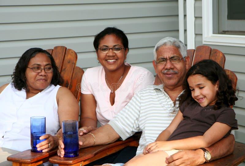 Familia imagen de archivo libre de regalías