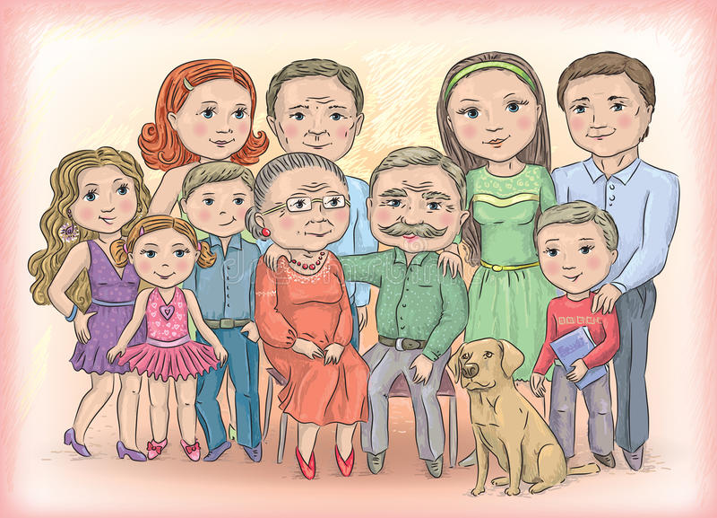 Familia libre illustration