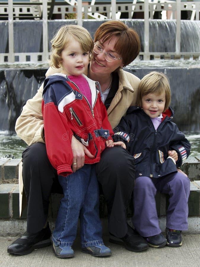 Familia imagen de archivo