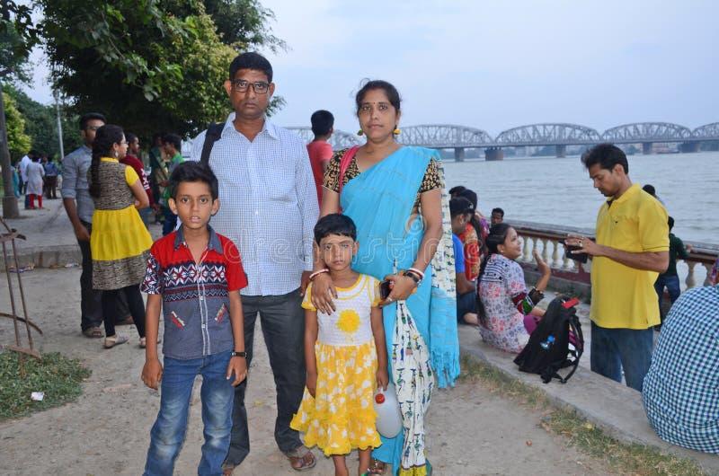 Familia bengalí imagenes de archivo