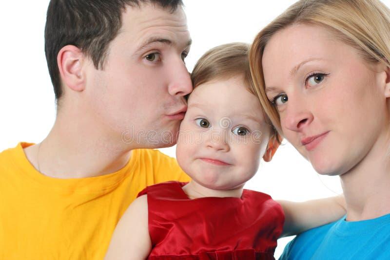 Familia colorida imagen de archivo libre de regalías