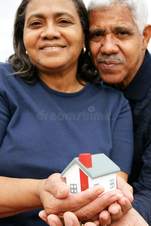 Familia de la minoría fotografía de archivo