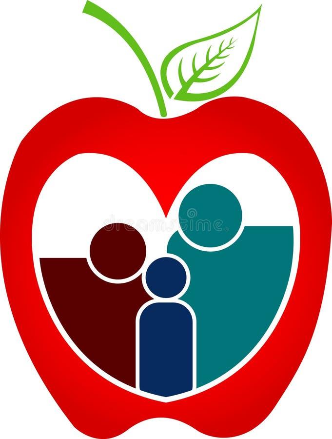 Familia de la salud libre illustration