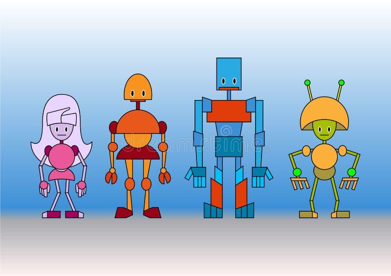 Familia de las robustezas libre illustration