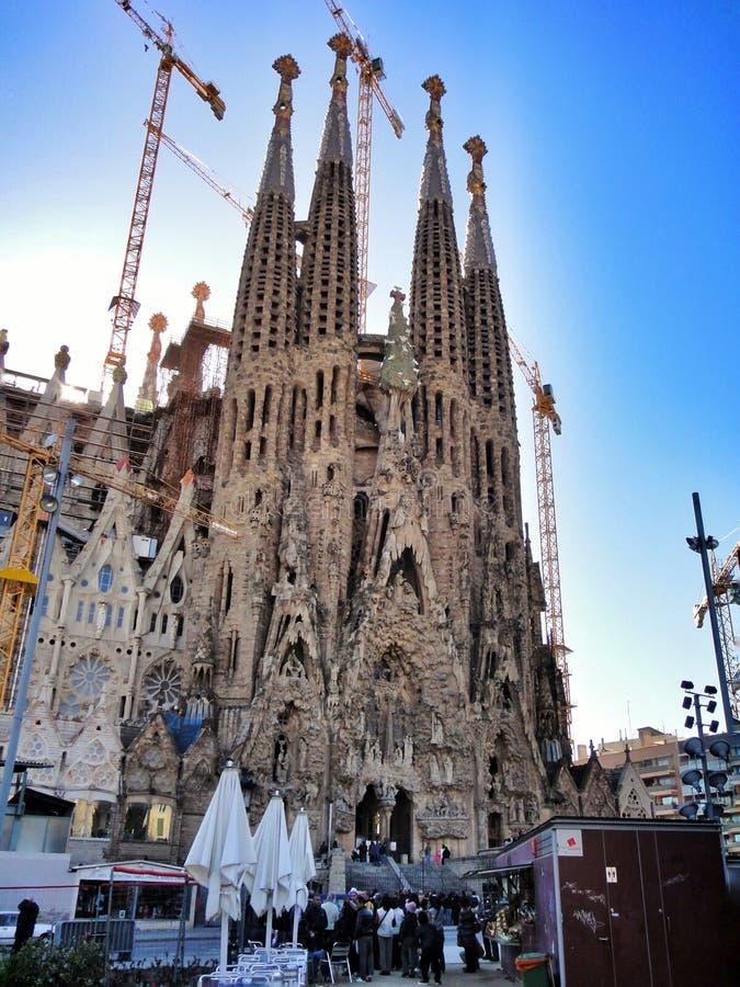 Download Familia De Sagrada à Barcelone Photo stock - Image du imagination, intérieur: 56487372