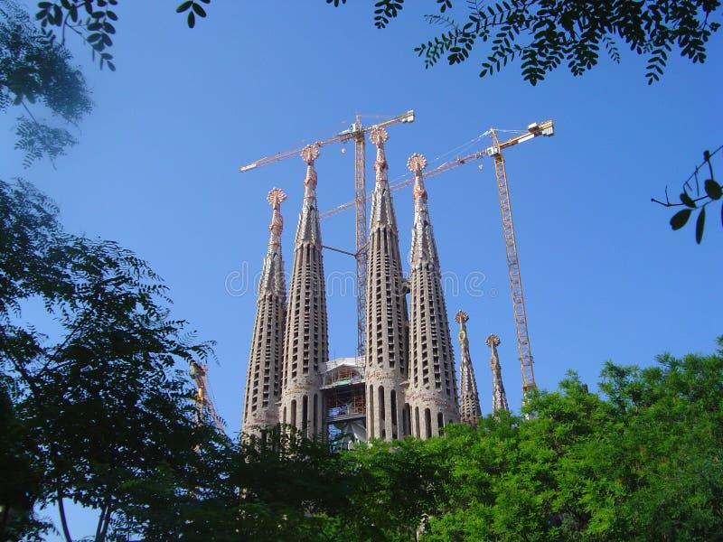 Familia de Sagrada fotos de stock royalty free