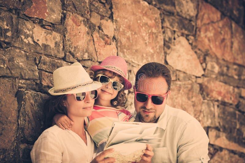 Familia el vacaciones foto de archivo